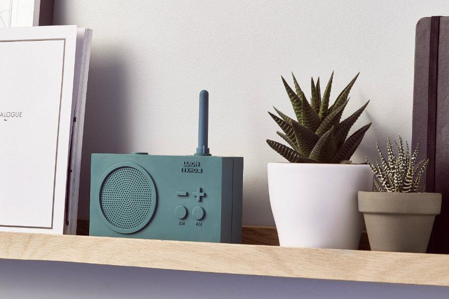 Lexon-Thykho radio -Green-tenc